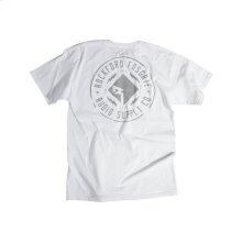 White T-shirt w/ RF 3M Graphic-L