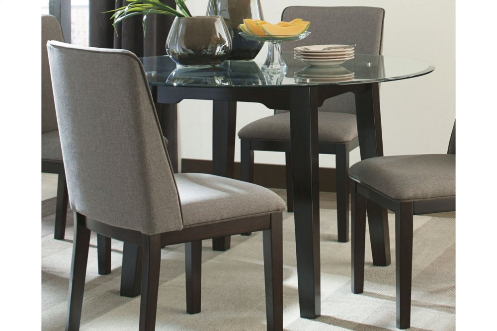 Ashley Furniture Round Glass Top Table