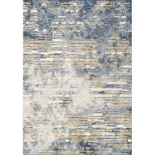 Intrigue 12187 Blue Brown 7 x 10