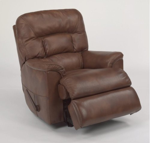 Great Escape Leather or Fabric Rocking Recliner