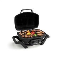 TravelQ PRO285 Portable Gas Grill in Black