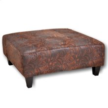Square Ottoman with Caster Wheel Legs