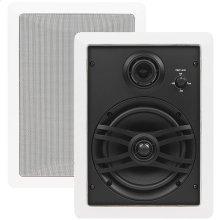NS-IW470 White Natural Sound 3-way In-wall Speaker System