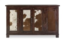 Durango Cowhide Solid Wood Sideboard