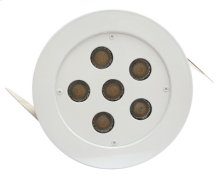 """3000K, 3W x 6 LED 5"""" recess fixture with driver included"""