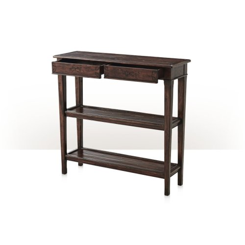 Subtly Incised Console Table