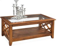 Cross Roads Coffee Table Product Image