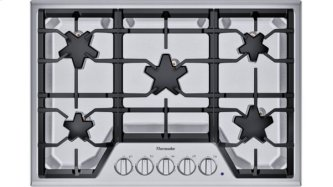 SGSX305TS ™ offers an impressive 30-inch gas cooktop with 5 patented Star™ burners, including a center-mounted power burner, 2 ExtraLow™ Select simmer burners, and 52,000 BTUs of overall heat output. 30-Inch Masterpiece™ Star™ Burner Gas Cooktop, Ext