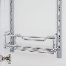 """Door Mount Tray 3"""" x 3"""" x 11"""". Retail Packaging. Finish: Chrome"""