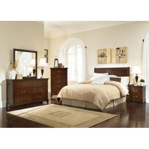 Tatiana Warm Brown King Five-piece Bedroom Set