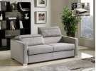 Divani Casa Norfolk Modern Grey Fabric Sofa Bed Product Image