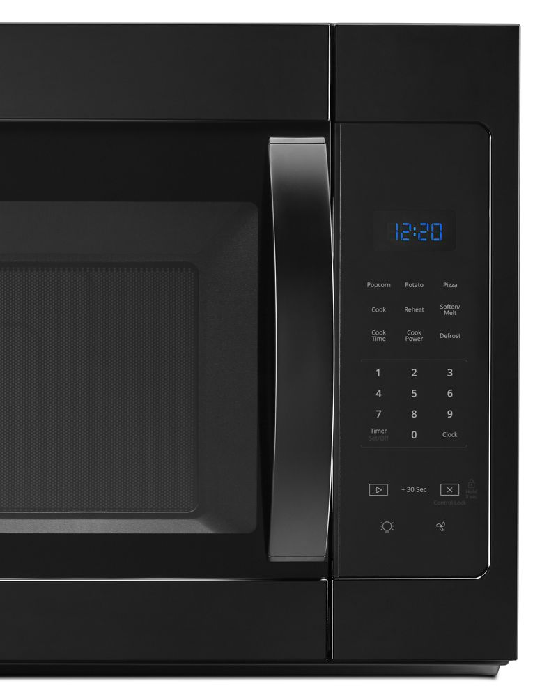 Whirlpool 1 7 Cu Ft Microwave Hood Combination With Electronic Touch Controls
