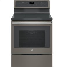 """GE Profile™ Series 30"""" Free-Standing Convection Range with Induction [OPEN BOX]"""