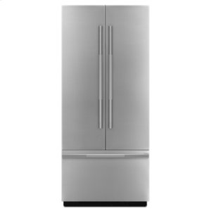 "Jenn-AirRISE 36"" Fully Integrated Built-In French Door Refrigerator Panel-Kit"