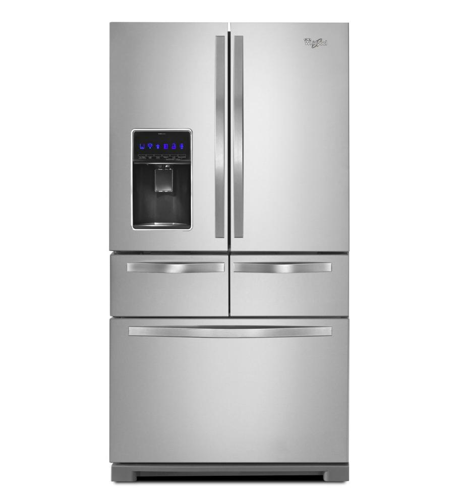 Whirlpool white ice microwave canada - 36 Inch Wide Double Drawer French Door Refrigerator With Dual Cooling System 26 Cu