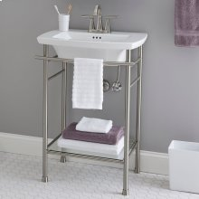 Edgemere Console Table Legs  American Standard - Polished Chrome
