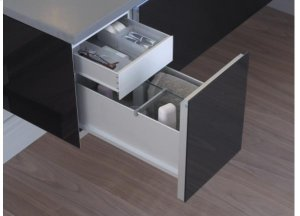 """Vanity Accessory Slim Drawer Insert for use in 12"""" drawers Product Image"""