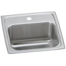 """Elkay Celebrity Stainless Steel 15"""" x 15"""" x 6-1/8"""", Single Bowl Drop-in Bar Sink"""