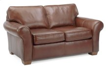 Vail Leather Loveseat