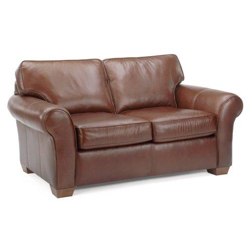 Vail Leather Loveseat