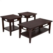 Signature Design by Ashley Logan 3 Piece Occasional Table Set [FSD-TS3-37DB-GG] Product Image