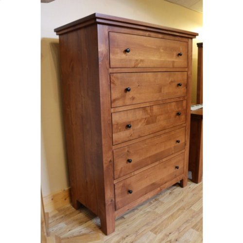 Virginia City Five Drawer Chest