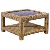 "Sorrento 34.5"" Square Coffee Table"