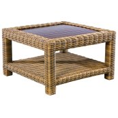 "Sorrento 34.5"" Square Coffee Table"