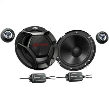 "6.5"" drvn DR Series Shallow-Mount 6.5"" 2-Way Component Speakers"