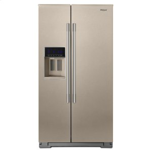 Whirlpool36-inch Wide Contemporary Handle Side-by-Side Refrigerator - 28 cu. ft.