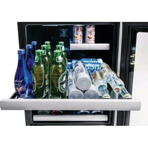 24'' Under Counter Beverage Center with Right Hand Door Swing