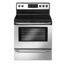 Frigidaire 30'' Freestanding Electric Range (This is a Stock Photo, actual unit (s) appearance may contain cosmetic blemishes. Please call store if you would like actual pictures). This unit carries our 6 month warranty, MANUFACTURER WARRANTY and REBATE NOT VALID with this item. ISI 32675