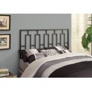 BED - QUEEN OR FULL SIZE / BLACK HEAD OR FOOTBOARD Product Image