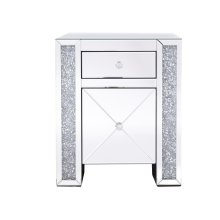 Nighttime is the best way to see the stars that dance about in the night sky, but it doesnt mean you have to say goodbye to them when its time to sleep. This side table is enveloped in gleaming clear beveled mirror panels, but it is the twinkling silver crystals embellished within the side columns […]