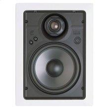 In-Wall High Definition Loudspeaker; 6 1/2-in. 2-Way; Includes Bracket HD6R