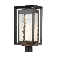 1 - Light Outdoor LED Post Lantern