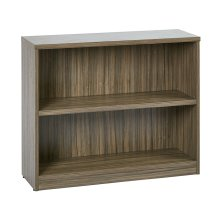 "36wx12dx30h 2-shelf Bookcase With 1"" Thick Shelves"