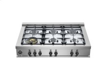 36 Rangetop 6 Burners Stainless