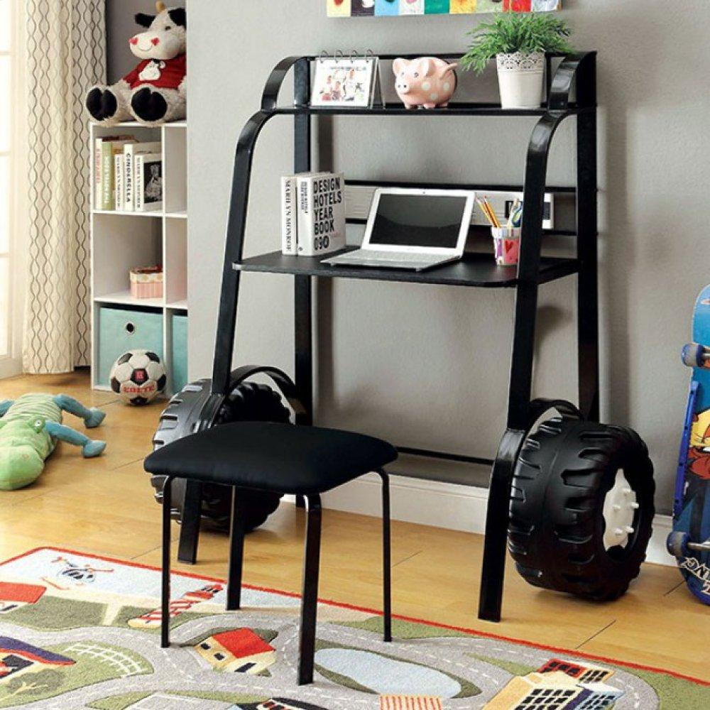 Power Racer Ii Desk W/ Stool