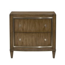 Rumi 2 Drawer Nightstand