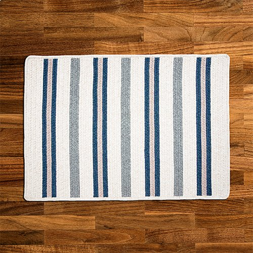 Allure Rug AL59 Polo Blue 2' X 8'
