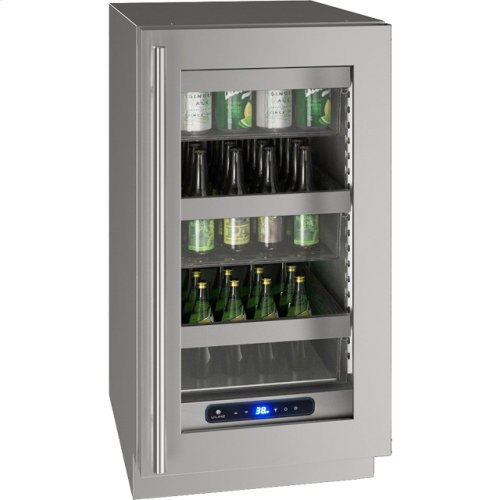 """5 Class 18"""" Refrigerator With Stainless Frame Finish and Field Reversible Door Swing (115 Volts / 60 Hz)"""