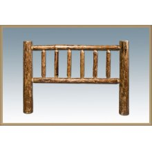 Glacier Country Log Headboards