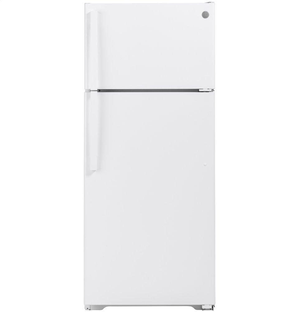 GEEnergy Star® 17.5 Cu. Ft. Top-Freezer Refrigerator