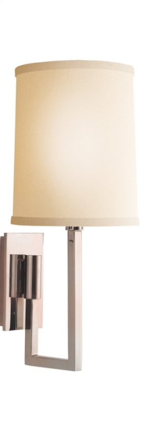 Visual Comfort BBL2027SS-L Barbara Barry Aspect 1 Light 6 inch Soft Silver Decorative Wall Light
