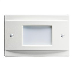 LED Steplight Non Dimmable WH