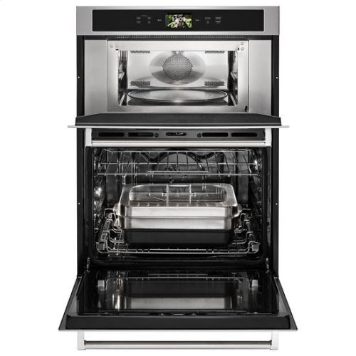 """KitchenAid® Smart Oven+ 30"""" Combination Oven with Powered Attachments - Stainless Steel"""