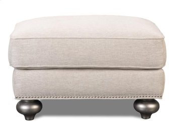 Silver Ottoman Product Image