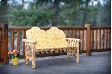 Montana Log Deck Bench - Exterior Finish