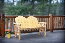 Montana Log Deck Bench - Exterior Finish